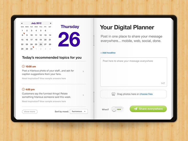 Your Digital Planner by Gabriel Valdivia - Dribbble
