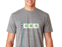 Automatic t shirt