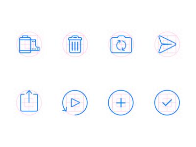 Icons, grids, 'n stuff