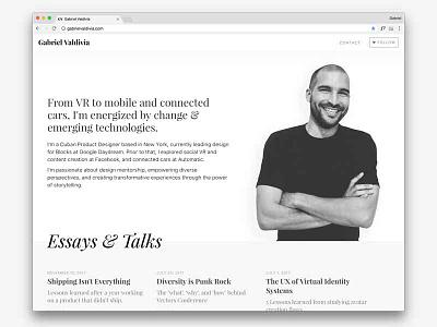 Portfolio Update site personal design web website portfolio
