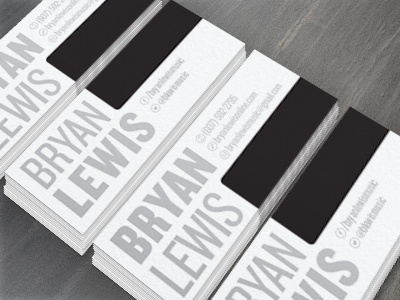 Piano Business Cards By Gabriel Valdivia Dribbble Dribbble