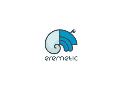Eremetic logo docker flat