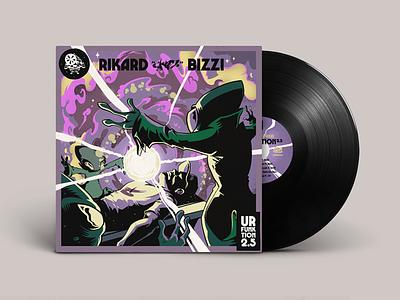 Ur funktion 2.5 aliens epic legendary vinyl album record cover