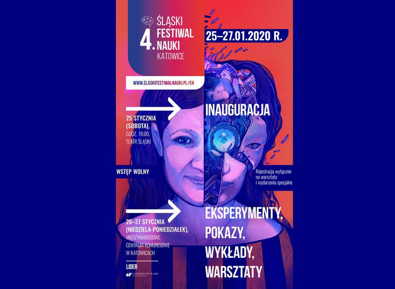 4 Silesian Science festival poster