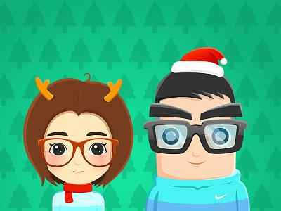Merry X Mas avatar apple yoyocaso