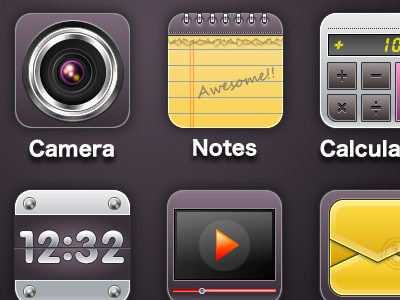 Purple2 for iPhone4S icon