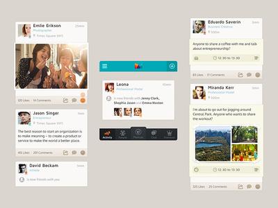 an app (activities)