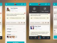 an app (meetups)