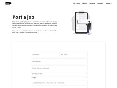 High St Digital Business Job Board