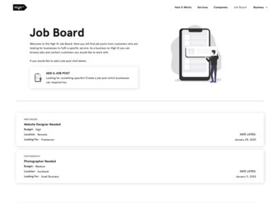 High St Job Board
