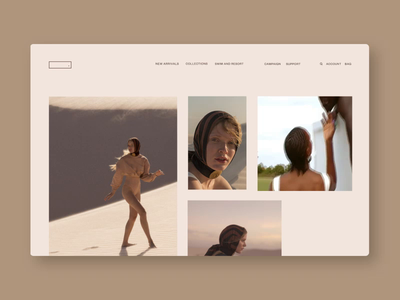 Grid Layout E-commerce Concept fashion ui products shop ecommerce web interaction layout animation grid