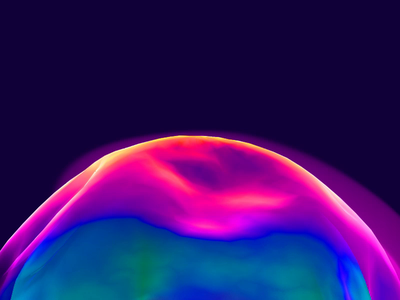 Space Comet ball loading motion product ui space design c4d 3d ux interaction animation