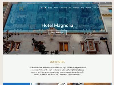 Web Design : Hotel Magnolia