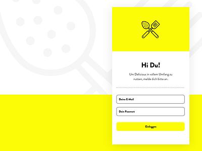 Login Interface adobexd flat web app ui