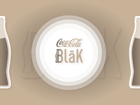 Coca Cola Blak — New logo concept for old product ☕️