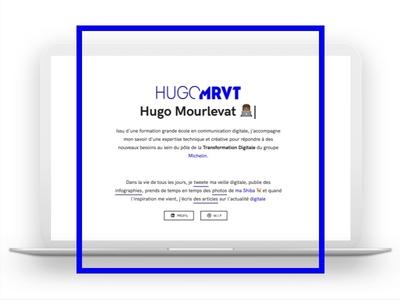 New website — @HUGOMRVT css3 js html5 ui website hugomrvt