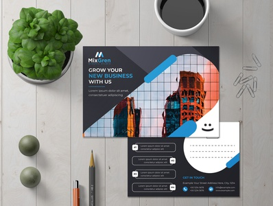 Corporate Postcard Design
