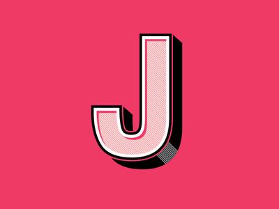 Helvetica J logo illustration letter j helvetica typography