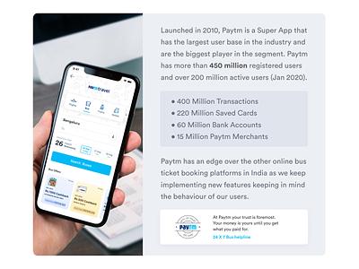 Paytm Travel icon mockup ux ui app design