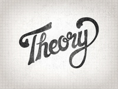 Theory Logo | Redone by Ryan McMaster - Dribbble