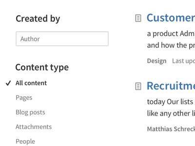 Confluence search results exploration atlassian confluence source sans pro typography search results search