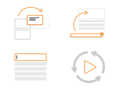 Help illustrations help education in-product education documentation feature discovery