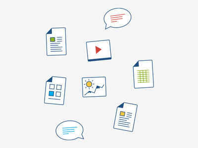 Page template icons atlassian confluence icons video