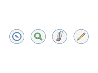 JIRA onboarding pictograms