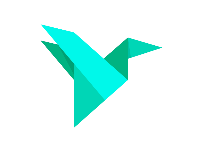 Origami Hummingbird - Andres Plazas | 600x800