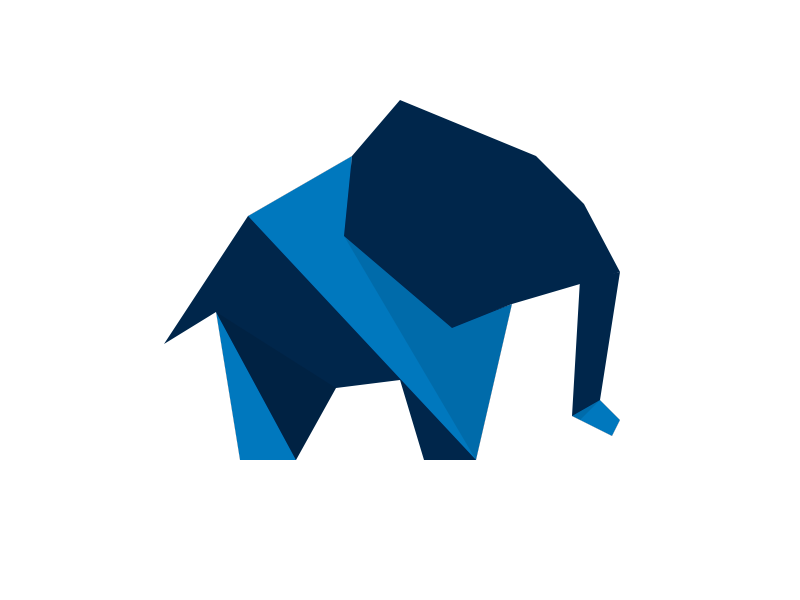 Origami Elephant By Benjamin Humphrey On Dribbble Learn how to fold an easy origami elephant with very simple step by step photos and instructions. origami elephant by benjamin humphrey