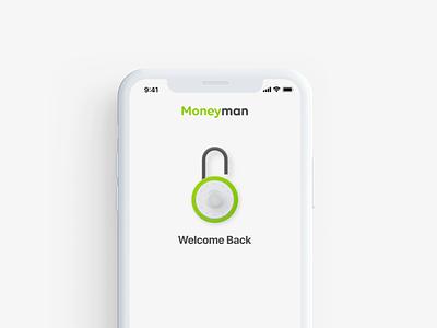 Moneyman UI Animation banking fintech animation uiux ui