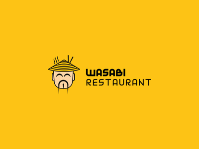 Wasabi Restaurant Logo corporate design corporate identity typographic type logotype logos brand designer branding design brand identity brand design typography logo design logo and branding brand logo presentation graphic design graphic design branding logo