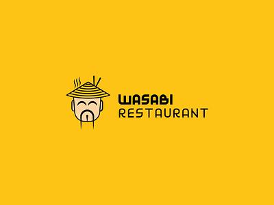 Wasabi Restaurant Logo corporate design corporate identity typographic type logotype logos brand designer branding design brand identity brand design typography logo design logo and branding brand logo presentation graphic design graphic design branding logo