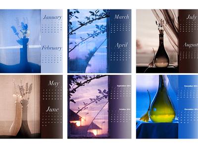 Abstract Photography Calendar