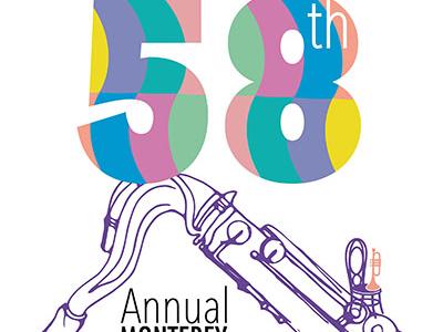 58th Annual Monterey Music Festival Poster