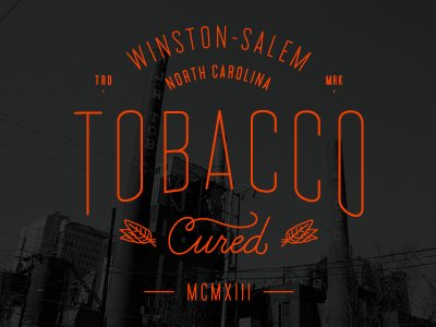 Tobacco cured