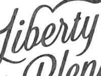 Liberty & Plenty Script
