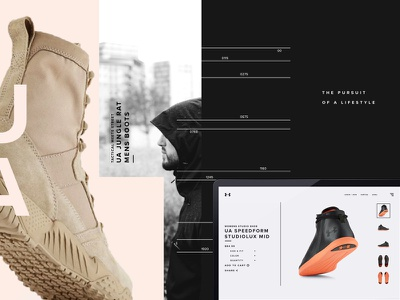Under Armour Revealed photography sports apparel design under armour branding ui ux harbrco