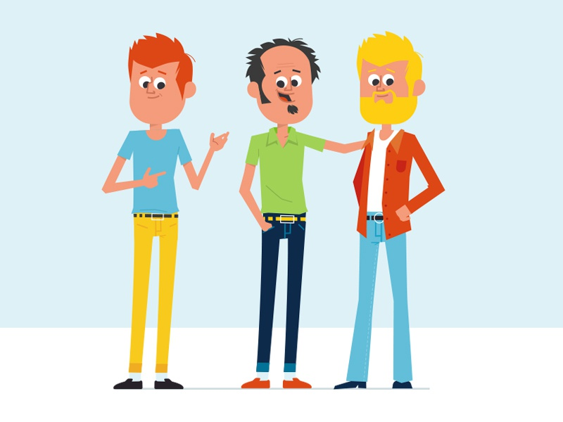 Characterdesign character designs hipster cartoon boy animation illustration graphic character vector art flat flat design design vector character character design
