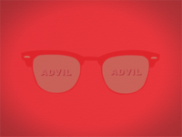 Sunglasses and Advil