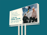 End of winter billboard