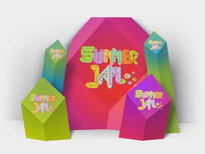 Summer Jam photozone concept