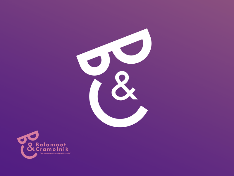 B and C logo concept