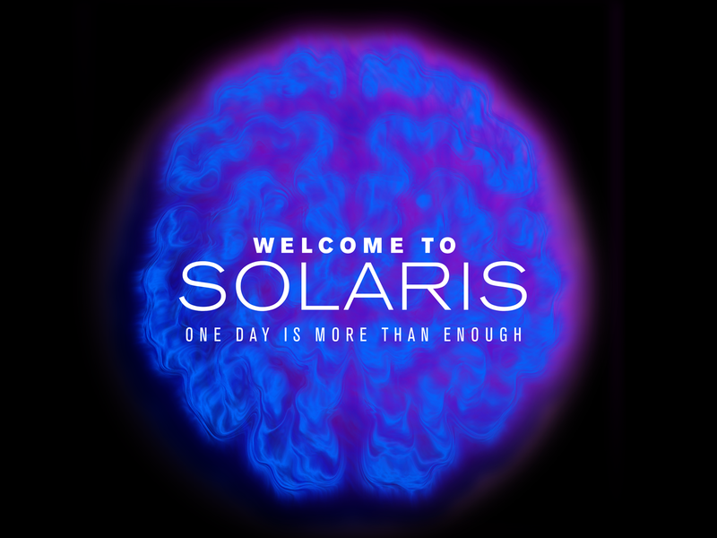 Weekly Warm-Up / WELCOME TO SOLARIS planet brain solaris card travel