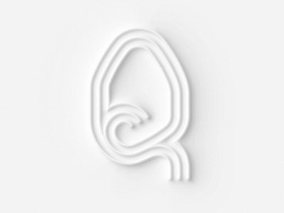 36 days of type Q graphic design illustration concept design lettering typography q 36 days of type 36daysoftype
