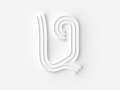 36 days of type U graphic design illustration concept design lettering typography 36 days of type 36daysoftype
