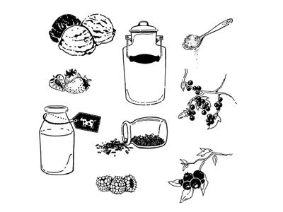 Recipe drawings