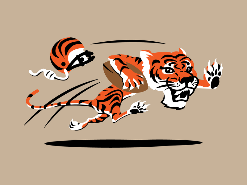 Updated Bengals Logo V2 bengals nfl football vector design logo illustrator branding cincinnati sports