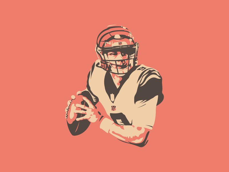 Joe Burrow Illustration