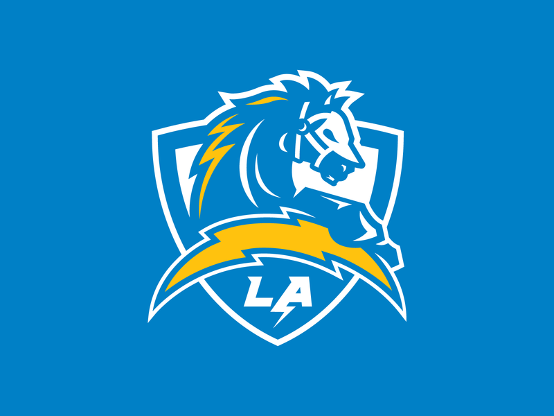 Updated Chargers Concept Logo